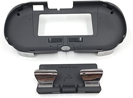 L3 R3 Matte Hand Grip Handle Joypad Stand Case with L2 R2 Trigger Grips Handel Holder Button For PS Vita PSV 2000 (Black)