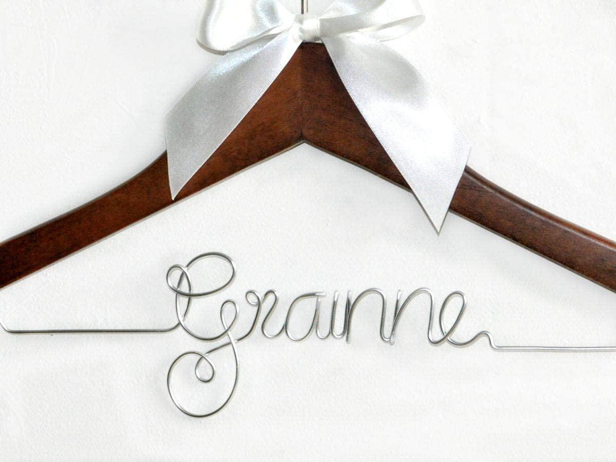 Flowershave357 Wedding hangerBride hangerMrs Hanger Bridal Shower Gift Personalized Bride Hanger Personalized Custom Wedding Hanger Dress Hanger