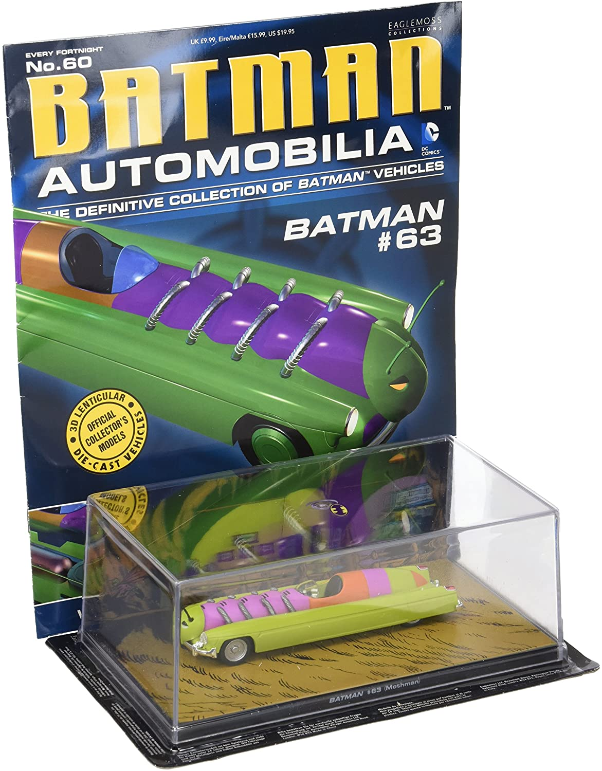 DC Batman Automobilia Magazine #60 - Batman #63 Batmobile