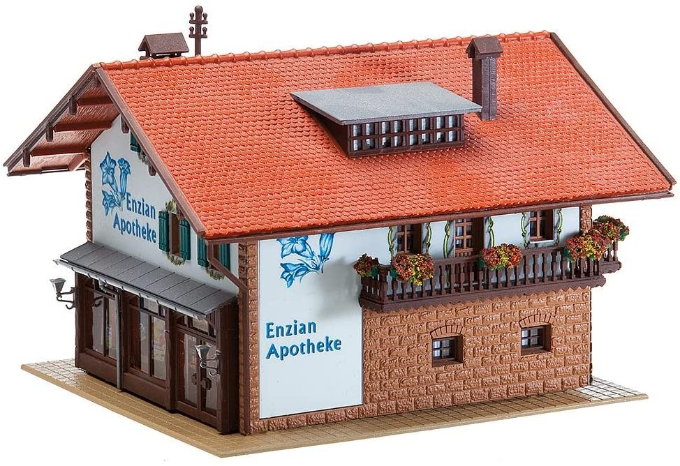 Faller 130330 Enzian Pharmacy HO Scale Building Kit