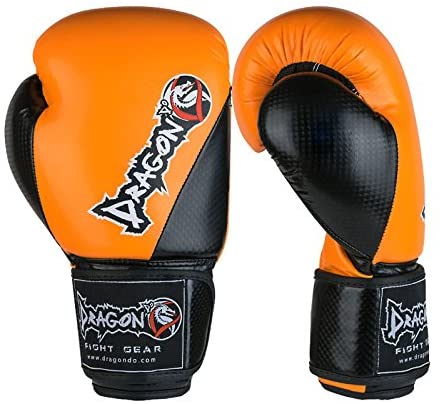 Dragon Do Carbon II Ideal for MMA, Kickboxing, Gym, Fitness, Workout Boxing Gloves