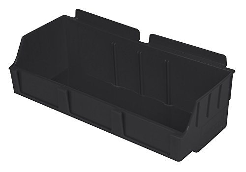 Slatwall Storage / Display bin, Plastic (polypropylene), 4.12