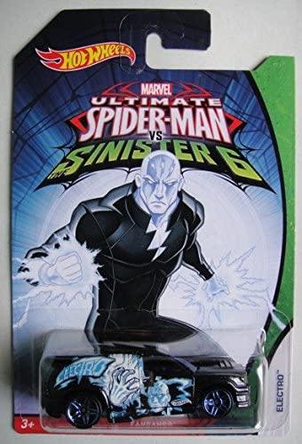 Hot Wheels Marvel Ultimate Spider-Man VS Sinister 6 Electro Fandango