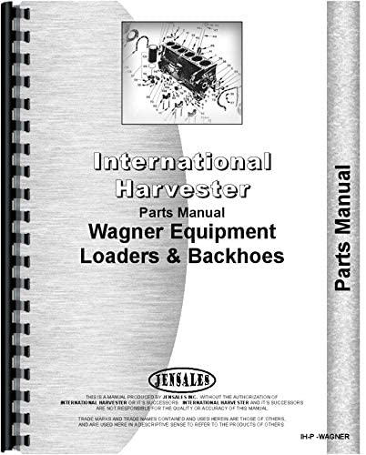 Ferguson 35 Wagner Backhoe Attachment Parts Manual
