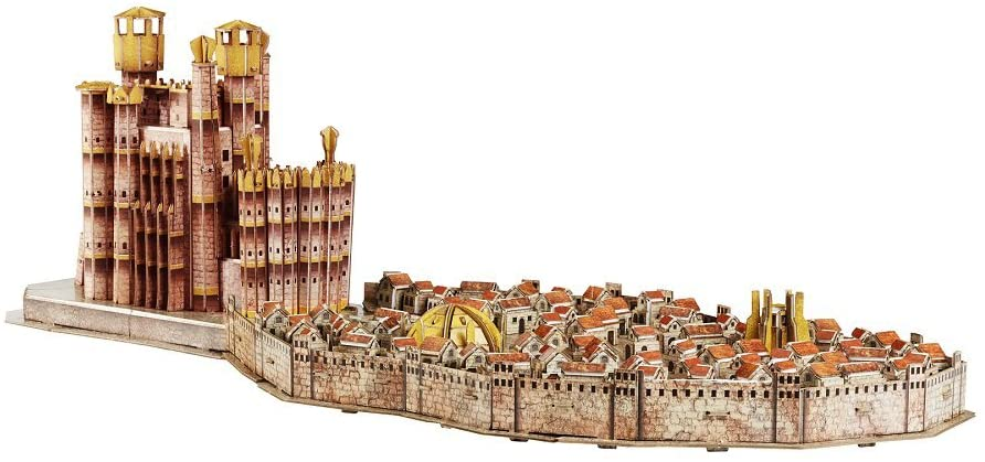 4D Cityscape Game of Thrones (GoT) 3D Puzzle of Kings Landing (260-Piece)