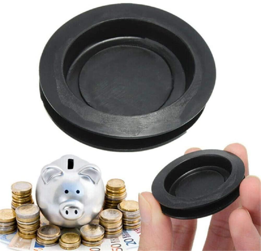 Balance World Inc Rubber Money Saving Box Piggy Bank Closure Plug Stopper Cover OD:43mm ID:33mm