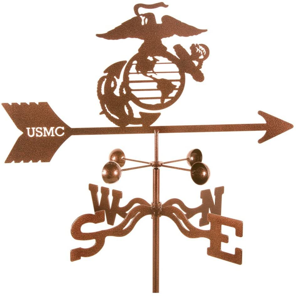 EZ Vane EZ1707-RF Marines Weathervane with Roof Mount