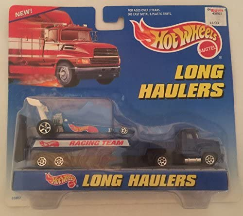 Mattel Hot Wheels Long Haulers Scorchin' Scooter with Transport Truck