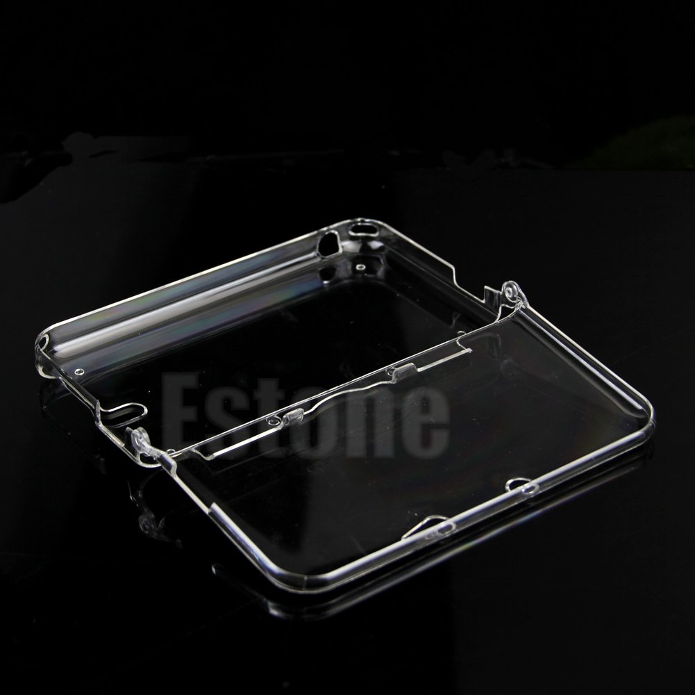 Plastic Crystal Protective Hard Clear Skin Case Cover for Nintendo 3DS LL