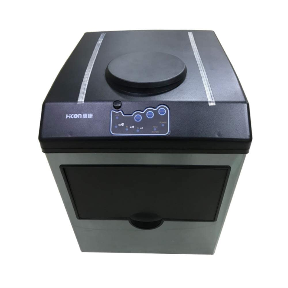220V HZB-25 New Small commercial ice machine household ice machine tea milk shop Automatic water inlet EU 220V