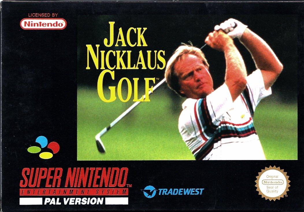 Jack Nicklaus Golf Super Nintendo
