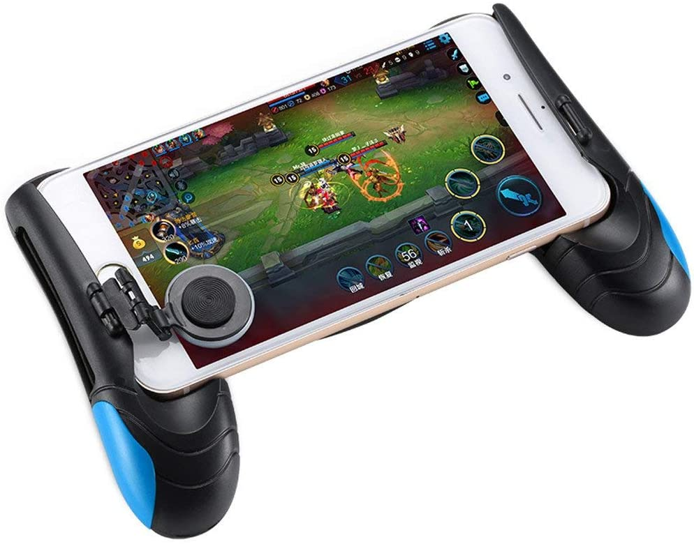 Yangeh Pubg Handle, Pubg Mobile Controller for Fortnite/Rules Survival/Sensitive Shoot and Aim L1R1 for Android iOS(1 Pair)