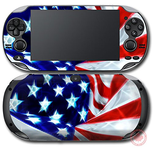 US National Flag SKIN STICKER DECAL VINYL COVER for PS Sony PlayStation Vita