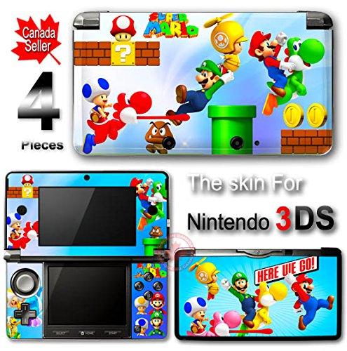 Super Mario SKIN VINYL STICKER COVER for Nintendo 3DS