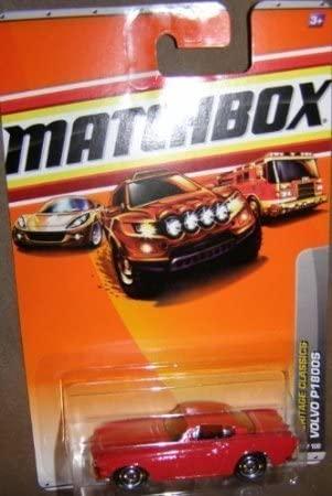 Dubblebla 2010 Matchbox Heritage Classics 17 of 100 RED Volvo P1800S