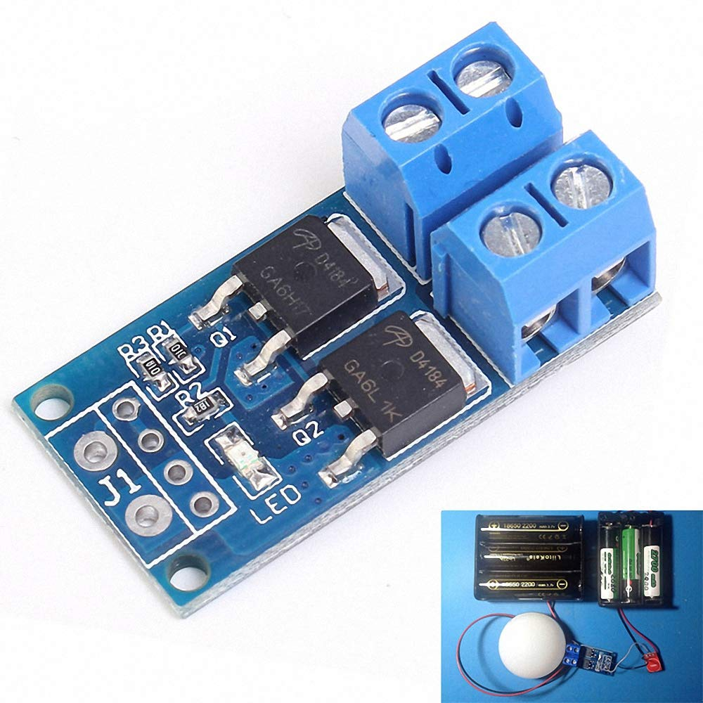 High Power MOS FET Trigger Switch Drive Module PWM Regulator Electronic Switch Control Panel DC 5V-36V