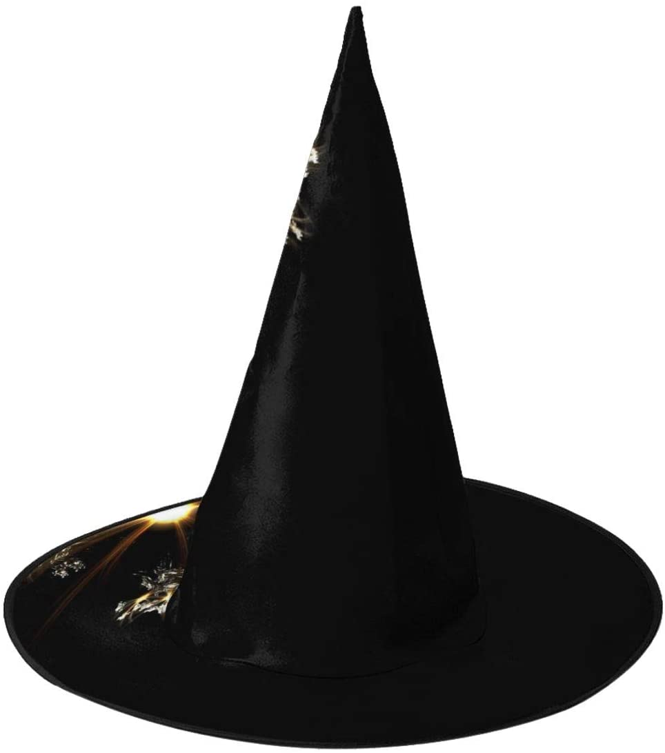 Halloween Costume Witch Hat,Amazing Generated Illustration Accessory for Holiday Halloween Party