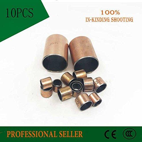 Ochoos 10Pcs SF1 SF-1 1408 1410 1412 1415 1420 1425 Self Lubricating Composite Bearing Bushing Sleeve Size 16mm Sliding Bearing - (Length: 1410 14x16x10)