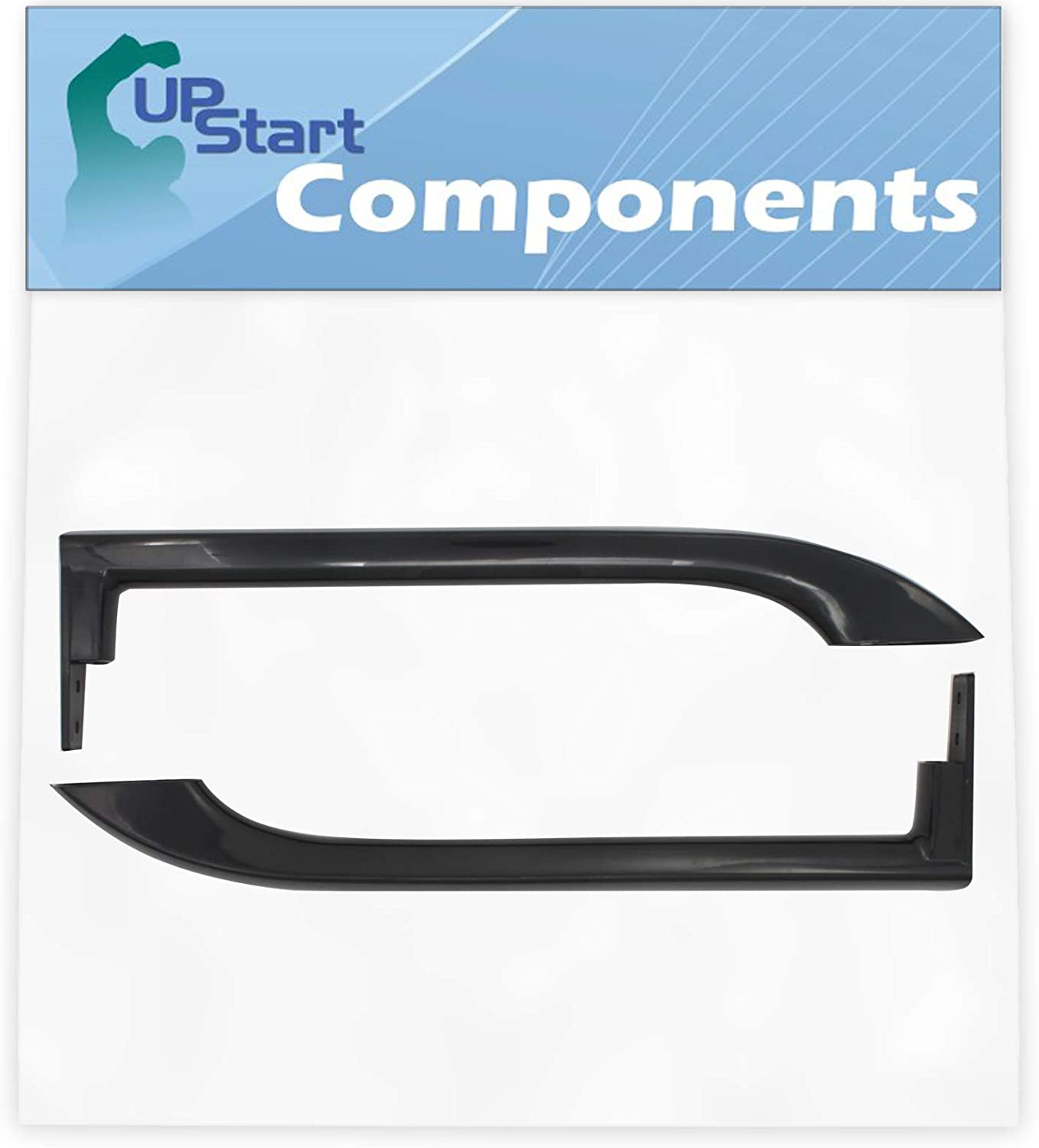 5304506471 Refrigerator Door Handle Replacement for Frigidaire LFHT1817LB2 Refrigerator - Compatible with 5304506471 Black Door Handle - UpStart Components Brand