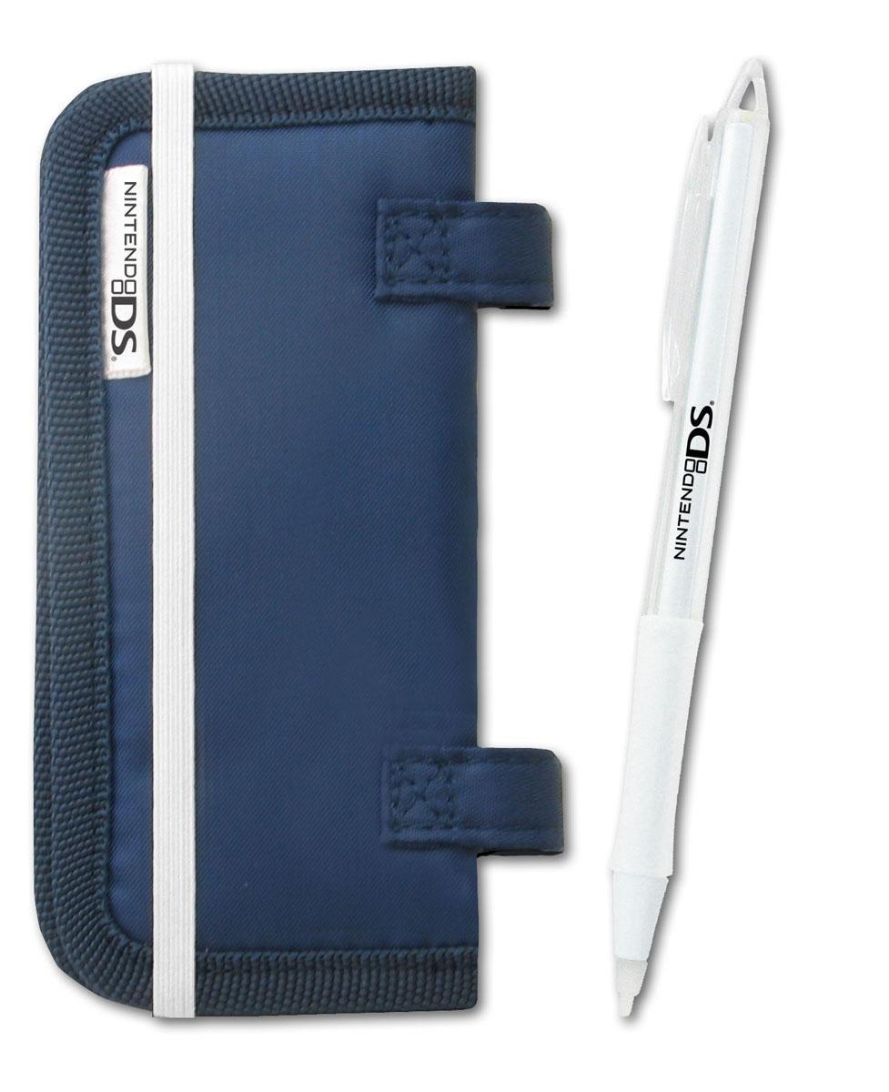 DS Card Folder + Touch Pen Blue