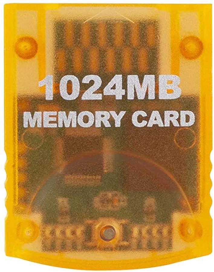 Rivetino Wii Memory High Speed Game Memory Card 1024MB High-Speed Game Memory Card for Wii Gamecube