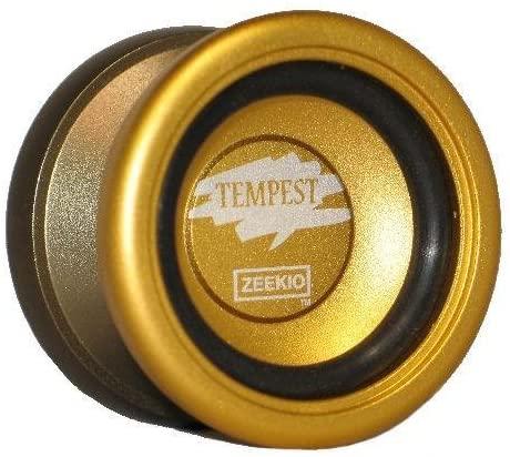 Zeekio Tempest Yo-Yo - Performance Aluminum YoYo Gold and Bronze