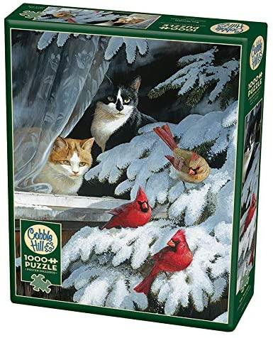 Cobble Hill Bird Watchers Jigsaw Puzzle (1000 Piece)