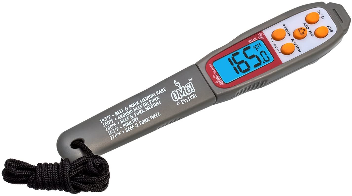Oh My Grill Waterproof Digital Pen Style Thermometer
