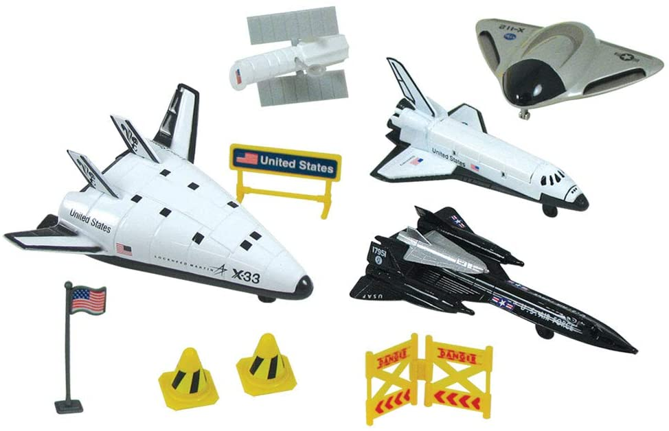 InAir WowToyz Space Explorer Extreme X-Planes Backpack Playset