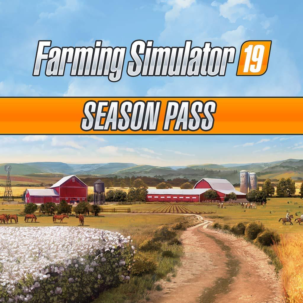 Farming Simulator 19 - Season Pass - PS4 [Digital Code]