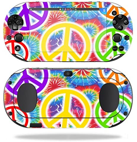 MightySkins Skin Compatible with Sony PS Vita (Wi-Fi 2nd Gen) wrap Cover Sticker Skins Peaceful Explosion