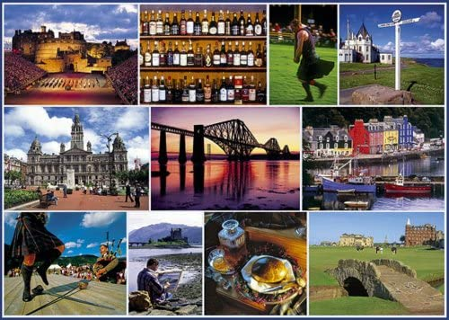 Gibsons Puzzle - Postcard from Scotland 1 1000 Pieces