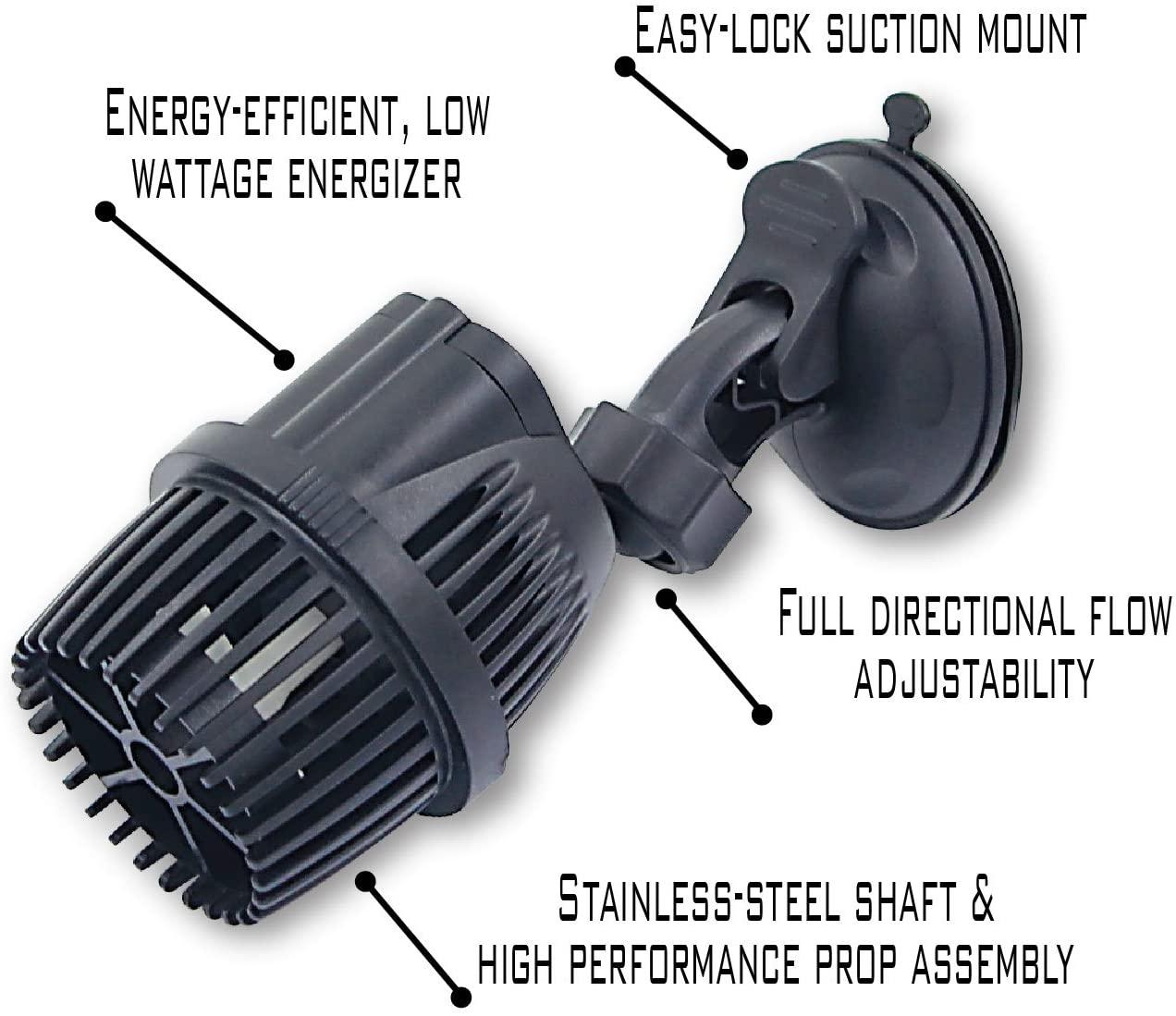 EA Performance Circulation Pump [1320-GPH] with Heavey Duty Suction Mount