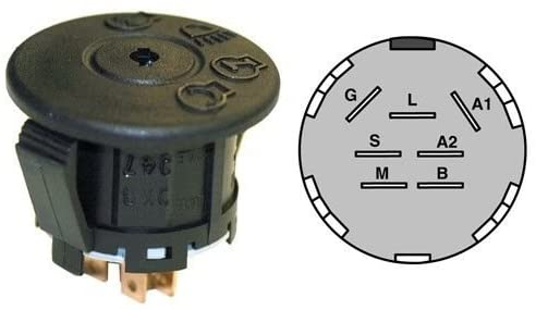Haliniose Starter Switch MTD MTD 925-1741 725-1741 AYP 175442,Product_by: powerlawnmowerparts~hee12121794163155
