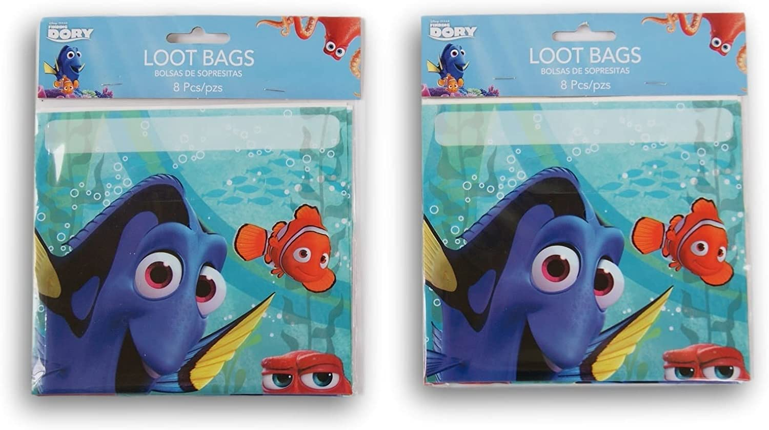 Party Supply - Finding Dory - 16 Party Favor Loot Bags