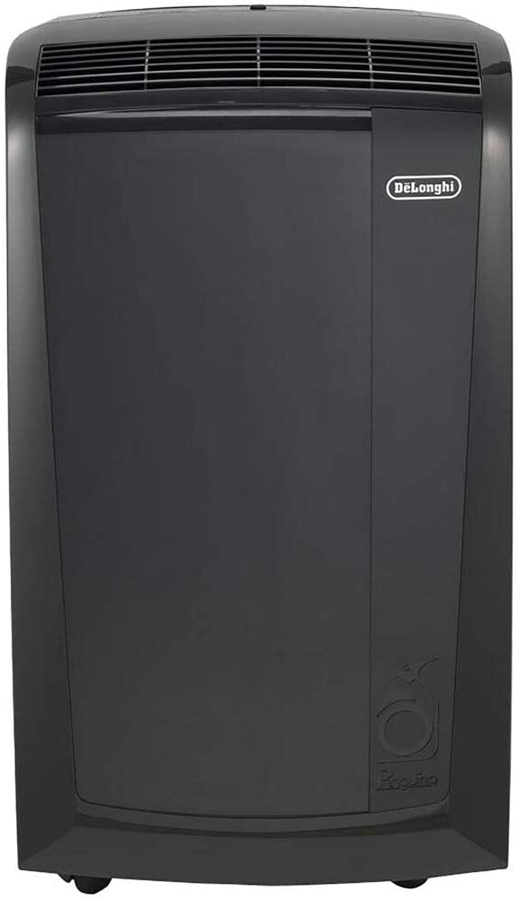 DeLonghi Pinguino 3-in-1 Room up to 600 Sq. Ft. Portable Air Conditioner, Black