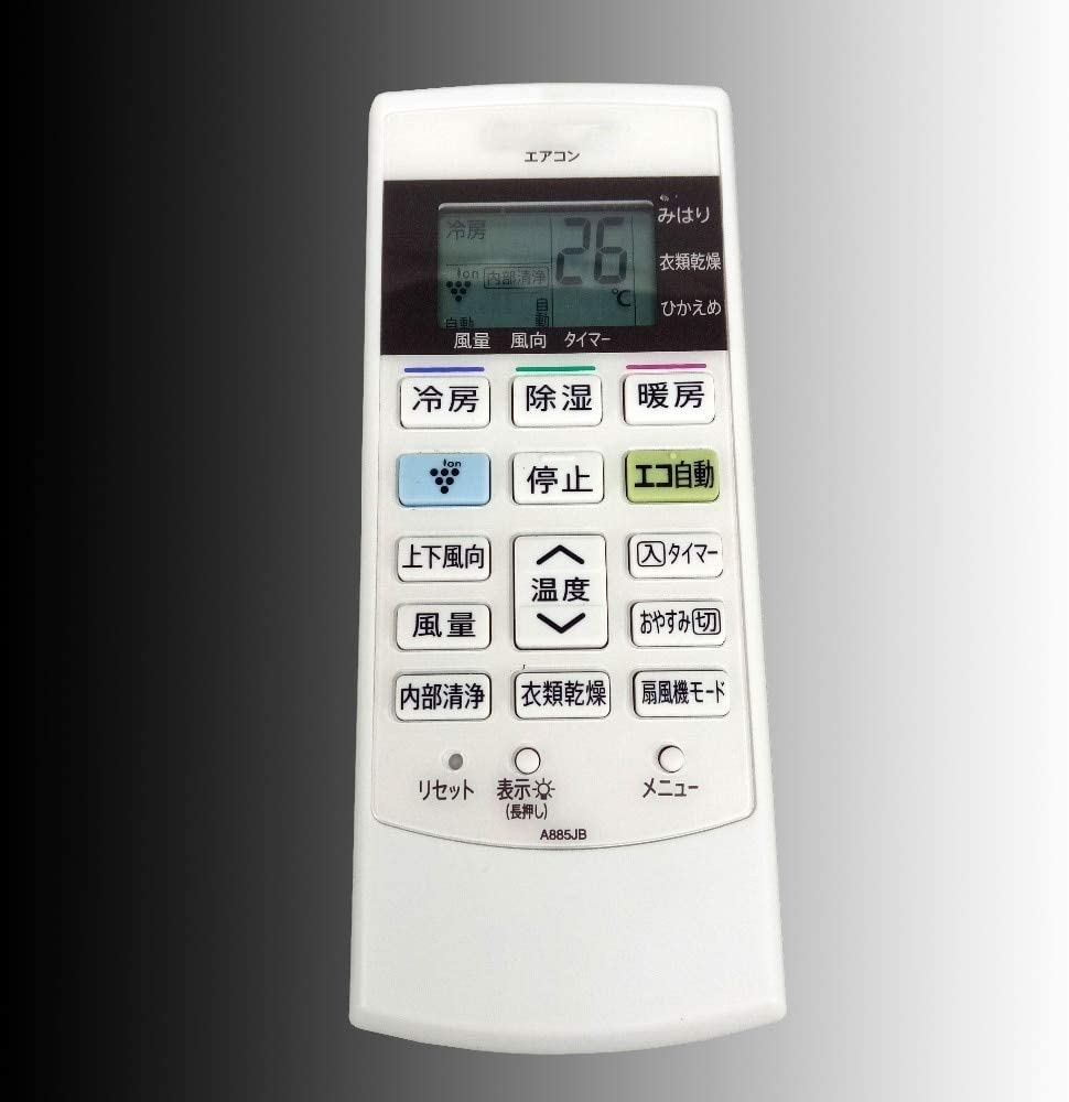 Calvas New Original For SHARP Universal Air Conditioner Remote Control AC A/C Japanese Remoto Controller A885JB Fernbedienung
