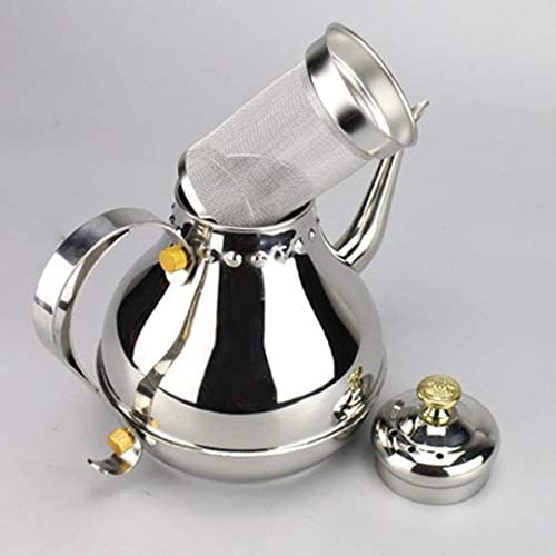 Coffee Maker 1.2L/1.8L Stainless Steel Long Mouth Pot Milk Teapot Kitchen Tool Percolators Coffee Pot Press Mini Coffee Maker