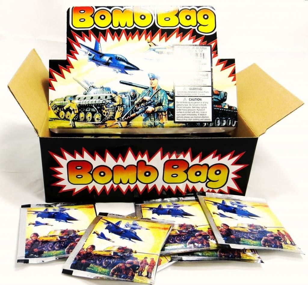 Bomb Bags - Exploding Bag - (1 DOZEN) 12 Pieces