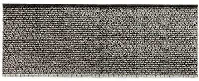 Noch 34854 Wall Gray Brick N Scale  Model Kit