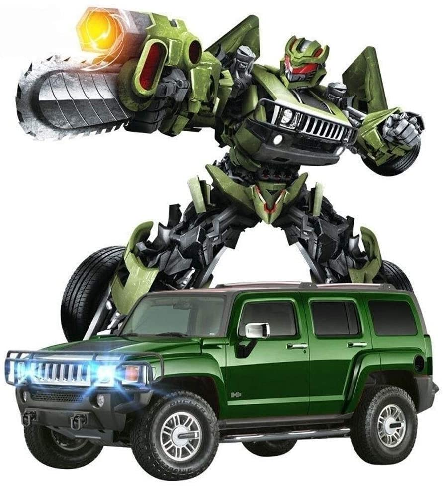 Xuess 2.4G Remote Control for Kids Dancing Robot Car Model Toy Vehicles RC Car RC Transformation Car Engine Sounds Speed Drifting Deformable Remote Car 1:14 Scale