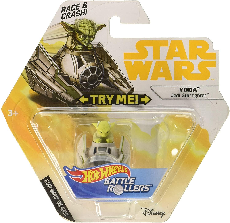 Hot Wheels Star Wars Yoda Jedi Starfighter, vehicle