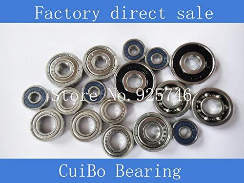 Ochoos 50pcs/lot SR4 ZZ Stainless Steel Bearings SR4ZZ Size:6.35X15.875X4.978mm