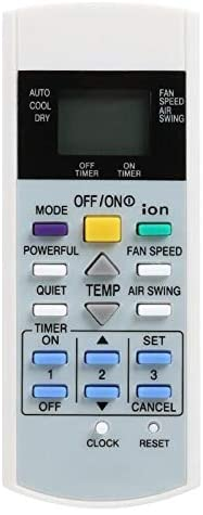 Calvas Air Conditioner Remote Control for Panasonic A75C3299 A75C2632 A75C2656 with the Greatest Confidence