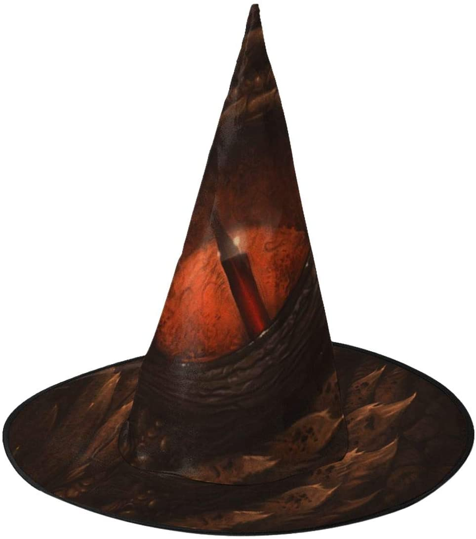 Halloween Witch Hat,Eye Of Fantasy Dragon Halloween Costume Witch Hat for Holiday Party