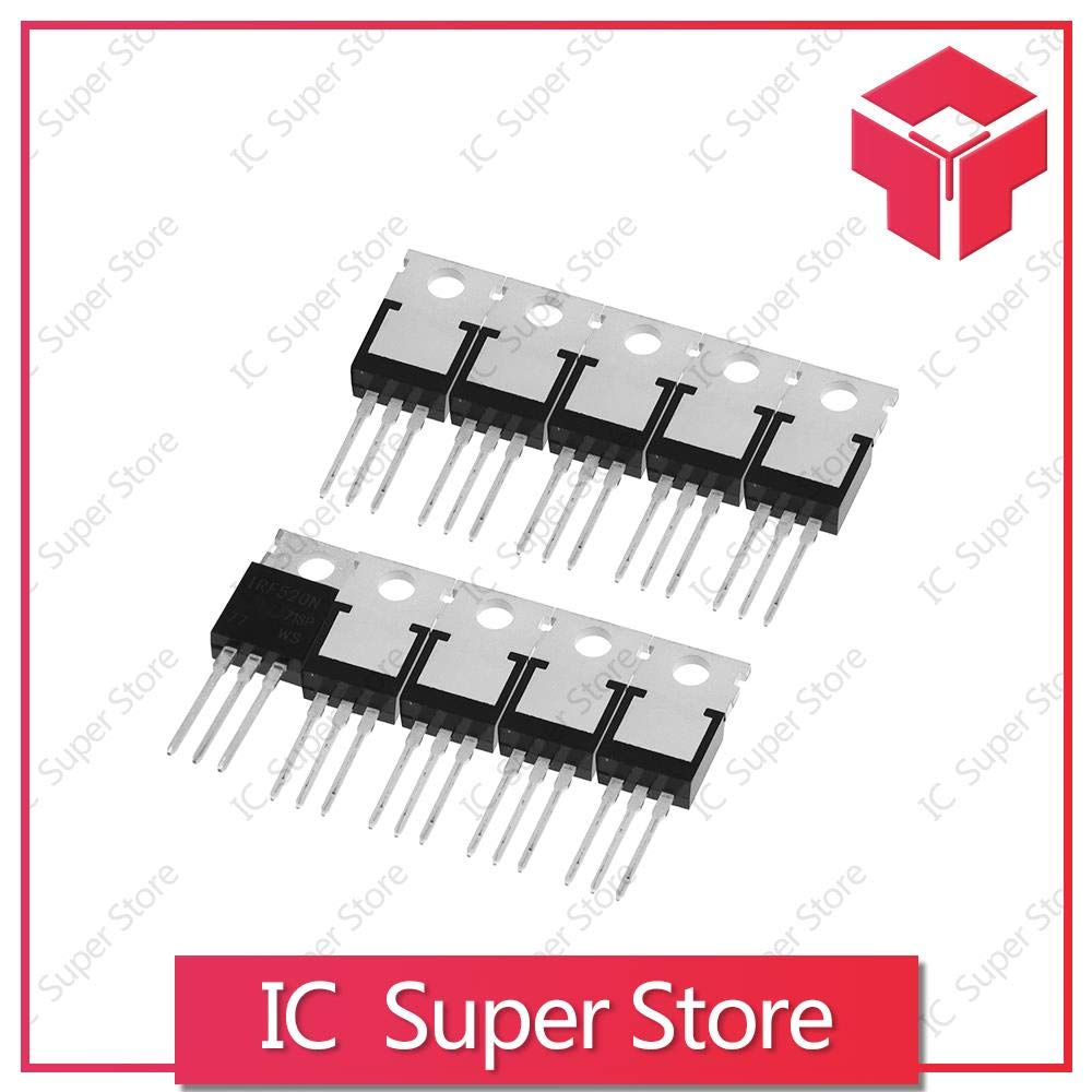 100PCS Best Quality IRF520N IRF520 IRF520NPBF N-Channel To-220