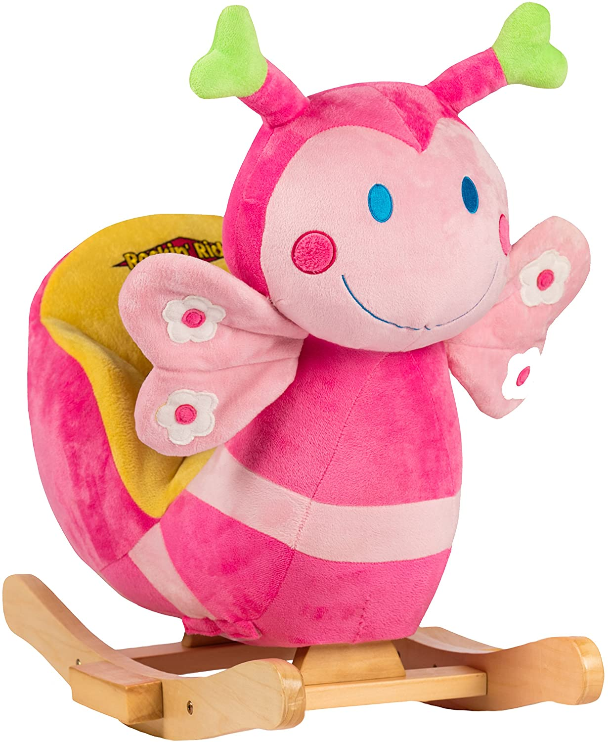 Rockin' Rider Blossom The Butterfly Baby Rocker Toy