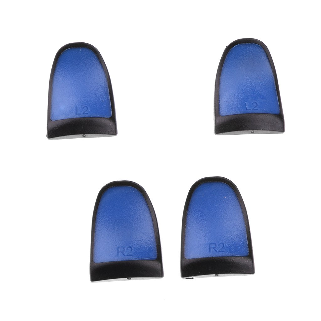 L2 R2 Extension Trigger Buttons for Playstation PS4 Handle Controller Blue