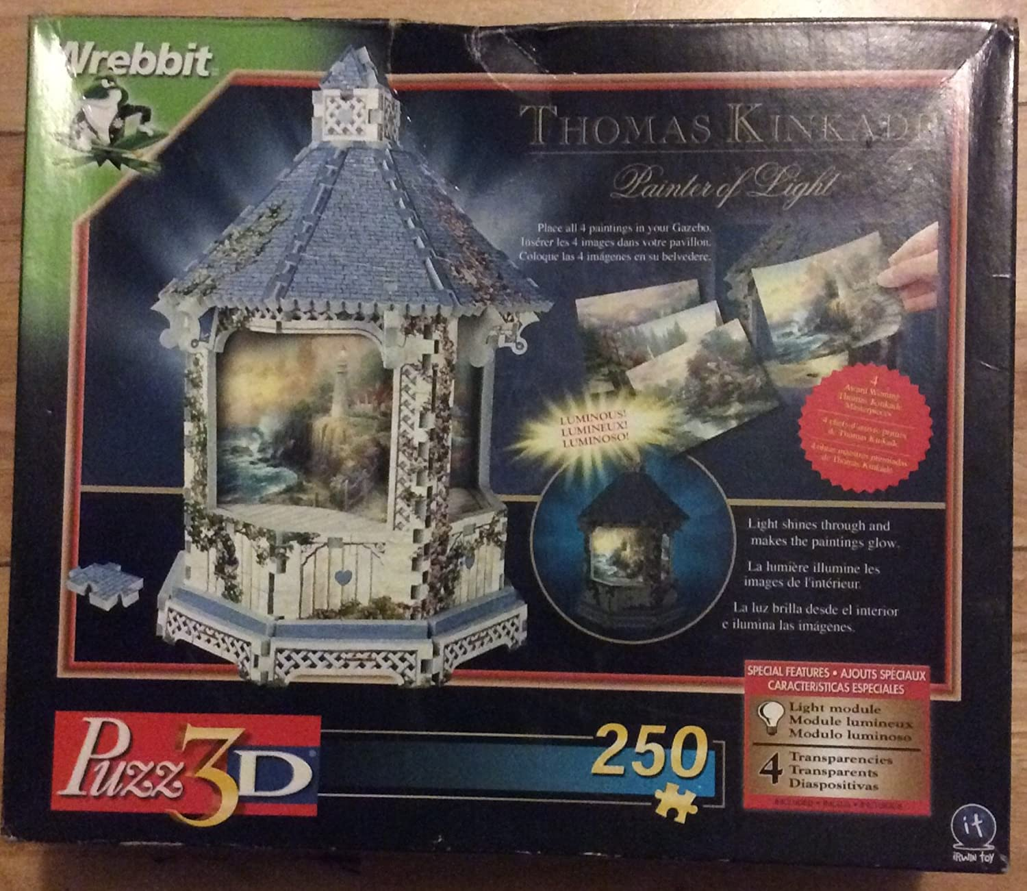Thomas Kincade ~Painter of Light 3D Puzzle by It