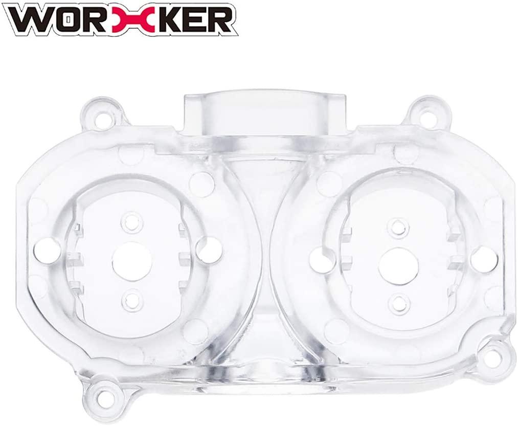 Yamix Worker 425 Plastic Flywheel Cage for nerf stryfe/nerf Rapidstrike CS-18/Worker Swordfish/ Worker Dominator (Oblique Flywheel Cage)